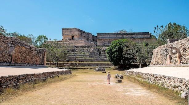 Få mayaernes glemte tempelby næsten helt for dig selv
