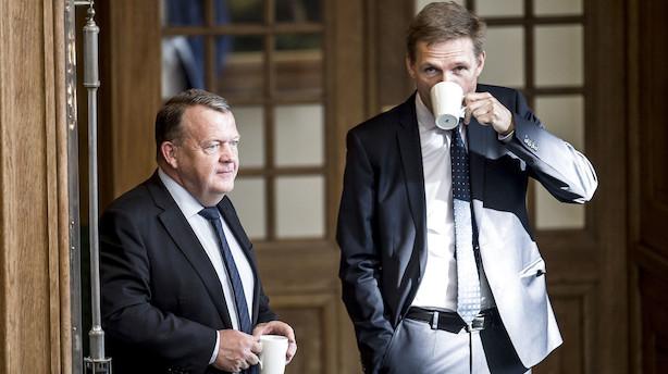 V-vælgere vil hellere i regering med Mette F end Thulesen Dahl