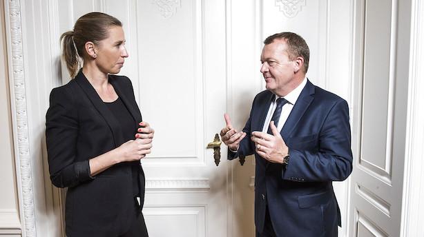 Mette Frederiksen dykker kraftigt på troværdighed i statsministerduel