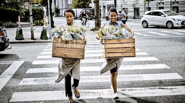 Vilde blomster og ladcykler giver flygtninge arbejde