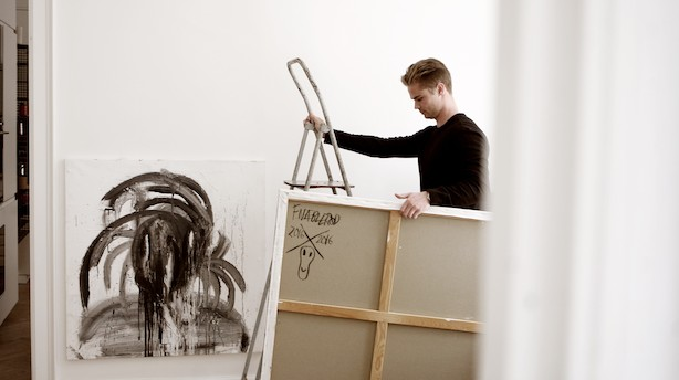 Investorer skyder 6 mio i dansk kunstapp