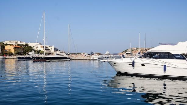 Hjørnet af Sardinien hvor vip'erne er som sild i en tønde