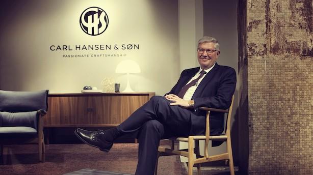 """""""Det er vigtigt at Carl Hansen & Søn bliver ved med at være en familiedrevet virksomhed. For mig er alt andet udelukket"""""""