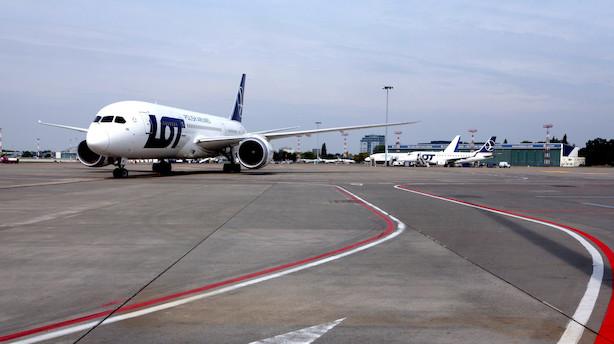 Derfor planlægger Polen at bygge Europas største lufthavn