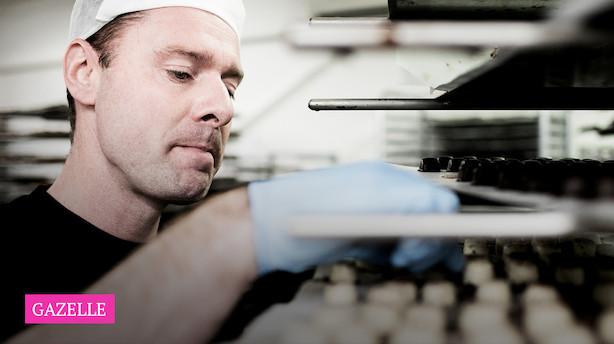 Chokoladefabrik på 120 år får debut som gazelle