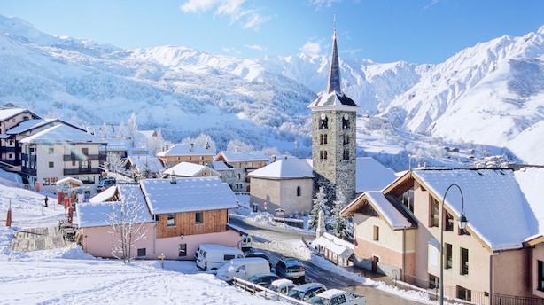 I Saint Martin de Belleville får du fransk livsnydelse på din skitur