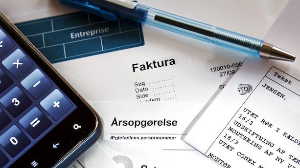 Debat: Digitale fakturaer kan sikre mere korrekt skattebetaling