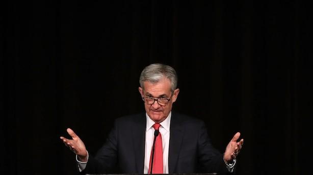 Ugen der kommer: FED løfter sløret for næste års rentekurs i USA