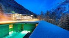 På badeferie i de schweiziske alper