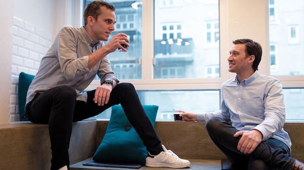 Iværksættere sagde deres job op for fire år siden: Nu omsætter duo for 53 mio