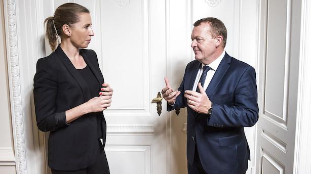 Katastrofemåling for Løkke: S klart i front