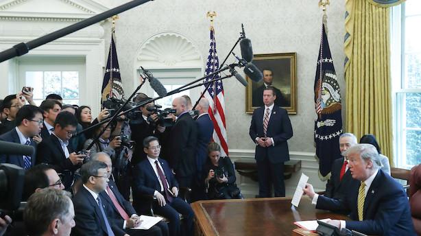 DI: USA vil ikke lægge sig ud med EU mens de forhandler med Kina