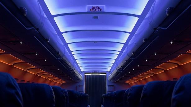 Sådan ser flyselskaber fremtidens flykabine