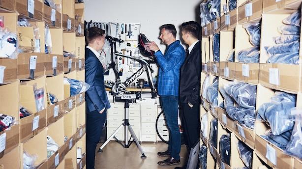 """Iværksættere sælger superstjerners brugte cykeludstyr: """"Nogle af de vildeste cykler, vi har haft, er Mark Cavendishs og Edvald Boasson Hagens"""""""