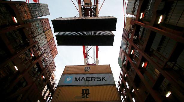 Mærsk taber terræn til Kina i havnesektor