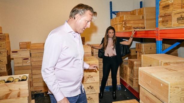Et sted under jorden i København gemmer Kim Mikkelsen dyre dråber for 20 millioner: Her er hans bedste køb til dato