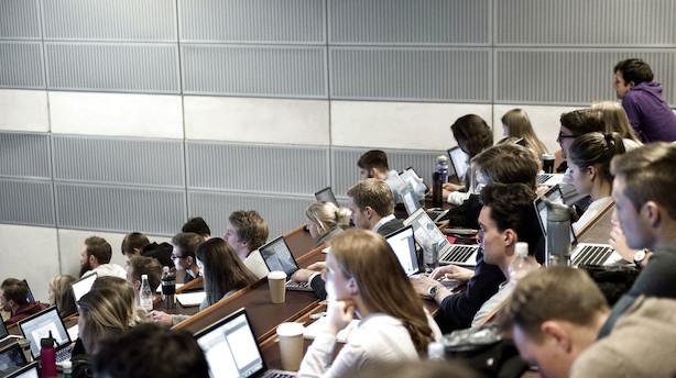 CBS-studerende til den nye regering: Vi er grundstenen i dansk erhvervsliv