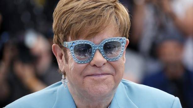 Da fænomenet, filantroppen og pianomanden Elton John kiggede forbi