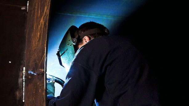 Effektive metalarbejdere holder beskæftigelsen nede