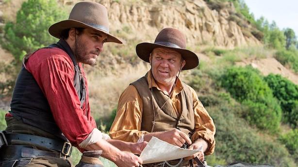 Morsom og original western med super skuespillere