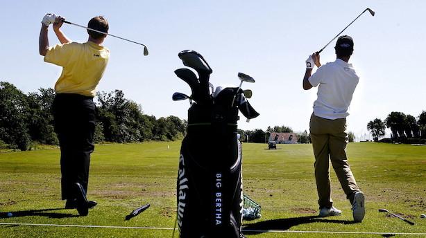Golfudstyr går som varmt brød: Vi har endnu ikke mærket de færre golfspillere