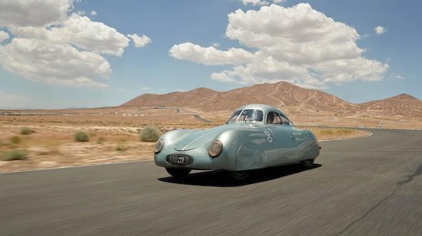 Porsche fremstillet til nazisterne forventes at blive solgt for 130 mio kr