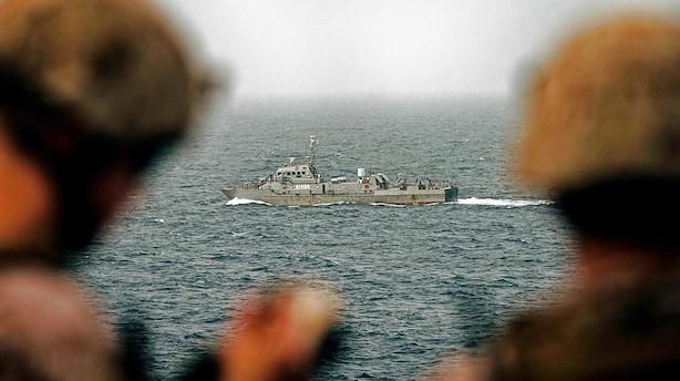 """Risiko stiger for danske skibe i farligt farvand: """"Vi har set en mangedobling af forsikringspræmier"""""""