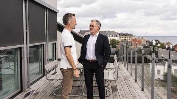 Lille milliard på vej fra engle til danske virksomheder
