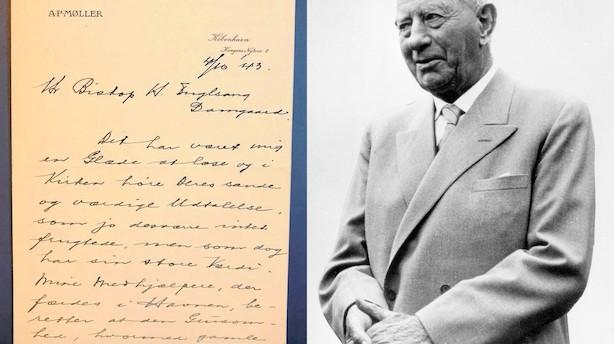Analyse: A.P. Møller-brev med historisk værdi