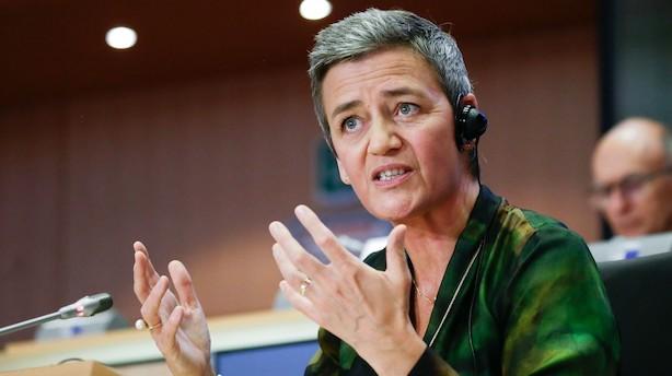 Vestager om tech-skat: EU går solo hvis global aftale glipper