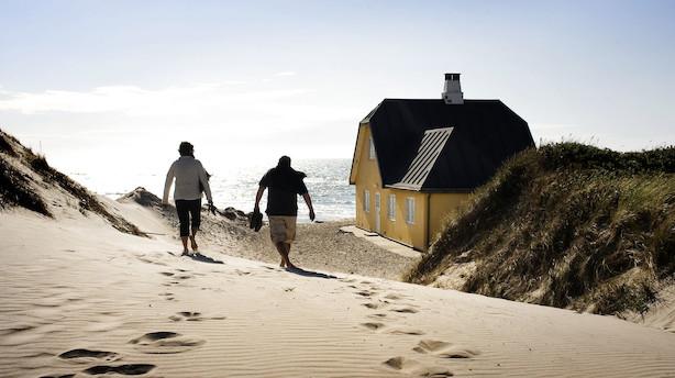 Udlejning af sommerhuse sætter rekord: Det danske ferieland er yderst populært