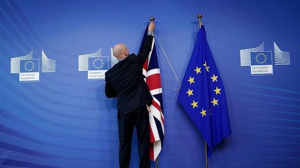 Det britiske parlament samles lørdag: Tre stemmer kan afgøre brexit-aftales skæbne