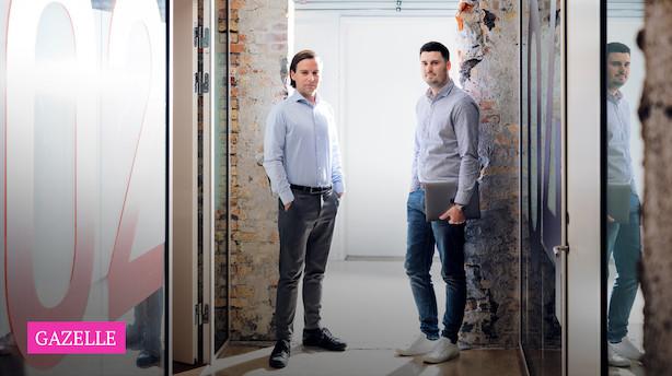 """Duo vokser med 2058 pct: """"Vi kunne ikke lide hinanden"""""""