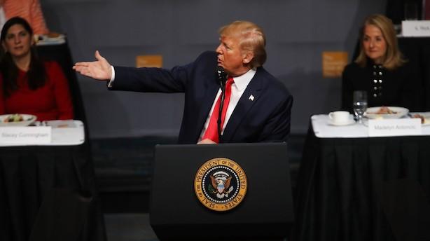 Trump: En aftale med Kina er tæt på, men vi bestemmer