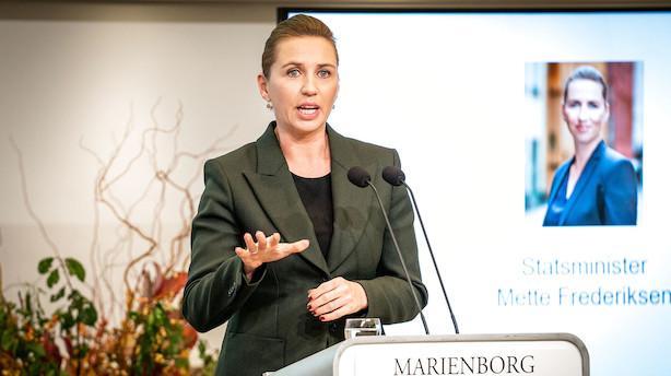 """Topchefer på svær klimamission for Mette Frederiksen: """"For tidligt at sige om vi kan være ved 70 pct lige nøjagtigt i 2030"""""""