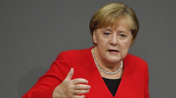 Børsen mener: En politisk nærdøds-oplevelse venter Merkel