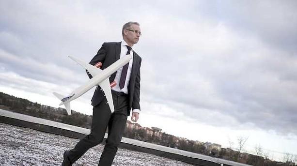 SAS-topchef er skuffet trods plusresultat i svært år
