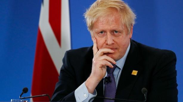 Boris Johnsons skæbneuge: Han har alt at tabe