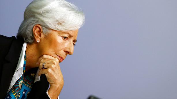 Lagarde: Klima, tech og ulighed får ny rolle