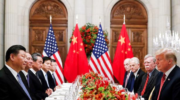 Ingen udsigt til fred i handelskrigen i 2020 trods delaftale mellem USA og Kina