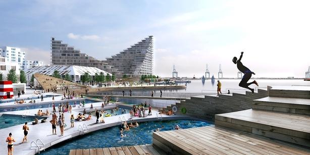 MT Højgaard skal bygge på Aarhus havn