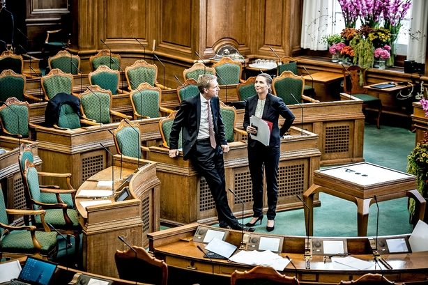 Helle Ib: DF kan blive skyggestøtteparti for S