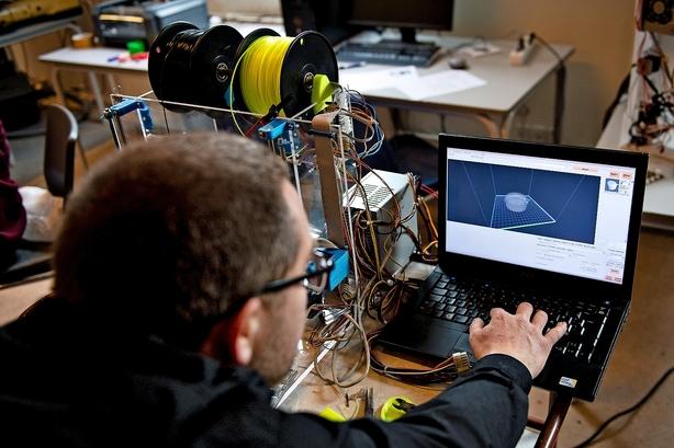 Center for 3D-print er på vej