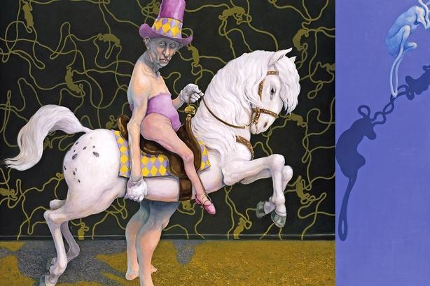 Michael Kviums uhyggelige cirkus på Arken i Ishøj