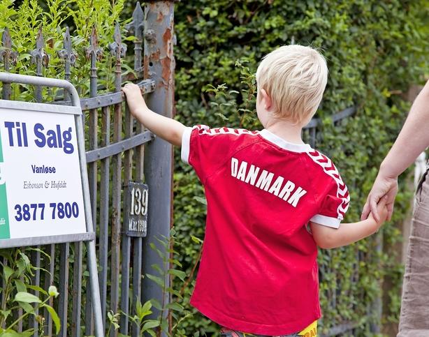 Huspriser tæt på toppen før krisen
