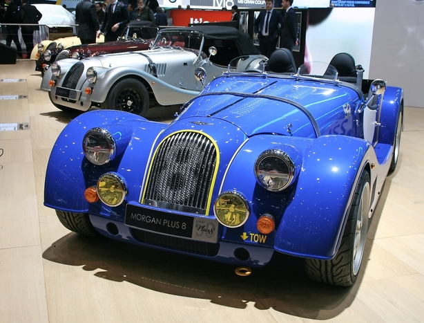 Morgan Plus 8 fejrer 50-års-dag