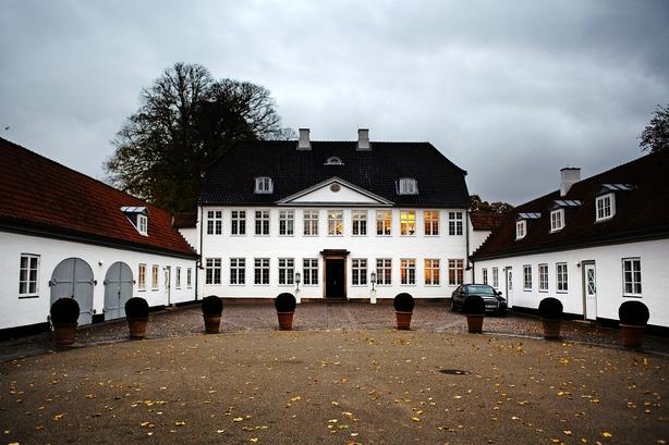 Topchefer til diskret middag på Marienborg