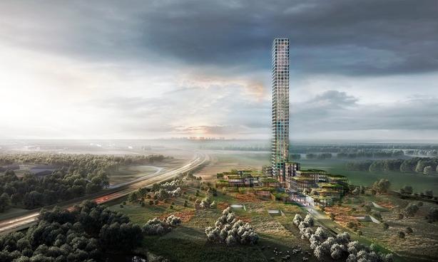 Bestseller udskyder tårn - arkitekt fyrer folk
