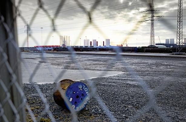 Godsterminal til 100 mio samler støv i Esbjerg