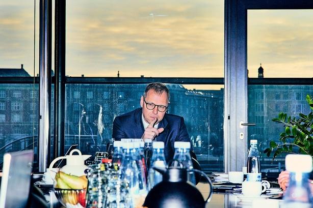 Nykredit-topchef tavs om mål for vækst i bankben